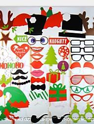 50 pcs foto adereços estande para christamas festa