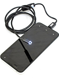 6 привело 7 мм объектив камеры эндоскопа Android Бороскоп трубки водонепроницаемый осмотр