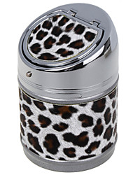 Camouflage Color PU design Universal Portable Ashtray for Car Use (Assorted Colors)