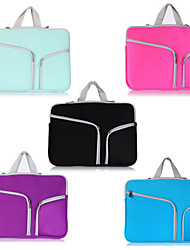 Asling bolso zip bag duplo laptop para MacBook Pro 15.4 ""