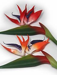 Пластик Стрелиция Искусственные Цветы