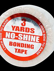 no-shine Klebeband 19mm breit * 2.7meters lang 1 Rolle für Bandhaarverlängerung