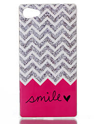 Wave smile Pattern TPU Phone Case for Xperia Z5 Compact/Z5mini