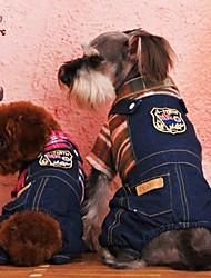 Katzen / Hunde Mäntel / Hosen Orange / Rose Hundekleidung Winter Hochzeit / Cosplay
