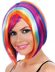 fabricants Vente en gros couleur approvisionnement carnaval festival de parti perruque susciter perruques synthétiques