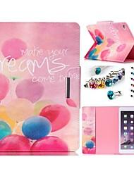 conception spéciale nouveauté cas folio cuir PU coloré dessin ou modèle étui pour Mini iPad / 3/2/1