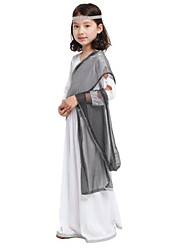 Performance Dresses&Skirts Children's Performance Polyester Sequins 3 Pieces White