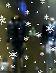 Etiqueta de la ventana clásica nieve, 10cm art deco * 10cm (pieza 0ne)