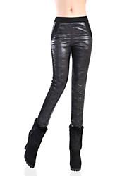Casual - Polyester - Micro-elastisch - Recht - Broek - Vrouwen