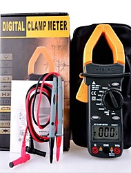 HYELEC MS2001F Digital Multimeter AC Current Clamp Meter with Back light Temperature Measuring function Resistance Clam Tester