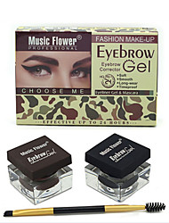 MusicFlower Two-Color Eyebrow Cream But When Mascara(3color)