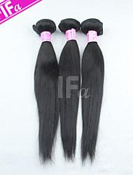 Brazilian Virgin Hair 3Pcs/Lot Straight Hair Human Hair Extension Color 1B
