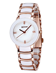 WEIQIN® Ceramic Band Dress Watches Women Luxury Crystal Rhinestone Rose Gold Brand Watch Lady Fashion Wristwatch Cool Watches Unique Watches