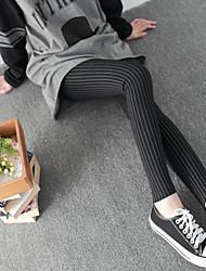 Women pants Knitting Active Tracksuits cotton high waist pants Plus velvet Elastic pants Casual pants