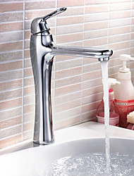 Contemporary Bathroom Sink Faucets Chrome Finish