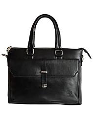 Men PU Casual / Office & Career Laptop Bag - Brown / Black / Khaki