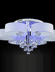 Montage du flux ,  Contemporain Plaqué Fonctionnalité for Cristal LED MétalSalle de séjour Chambre à coucher Salle à manger Bureau/Bureau