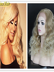 100% Virgin Hair Full Lace Human Hair Wigs Blonde 613 Blonde Lace Front Wig Glueless Brazilian Human Body Wave Lace Wig
