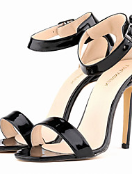 Women's Shoes Patent Leather Stiletto Heel Heels Sandals Party & Evening