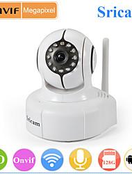 Sricam Onvif Wireless P2P Megapixel 720P Pan Tilt Indoor IP Camera SP011