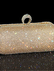 Damen Andere Lederart Abendtasche Gold / Silber / Schwarz