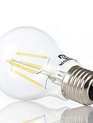 Decorative Globe Bulbs , E26/E27 4 W 4 COB 350-450LM LM Warm White / Cool White AC 100-240 V