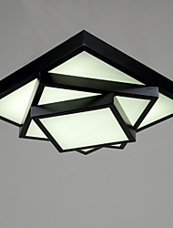 Ecolight™ Square Flush Mount/LED Modern/Contemporary Living Room Ceiling light / Bedroom/Kids Room / Metal
