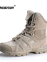 Sapatos Corrida em Pista Masculino Preto / Khaki Nylon / Flanelado / Tule