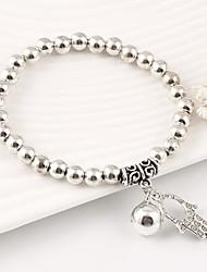 Bracelet - en Alliage - Vintage / Mignon - Perlé