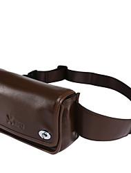 X.BNJ 1132 Men Waist Bag Top Grade Real Leather Unique Design Briefcases Men Cowhide Business Bags