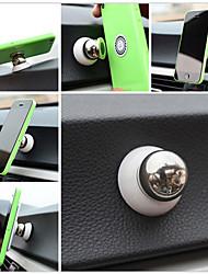 Universal 360-Grad-Drehung Mini Magnetautohalterung Armaturenbrett-Halter für iphone und andere (verschiedene Farben)