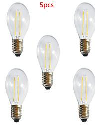 5 pezzi HRY E26/E27 2 LED ad alta intesità 250LM LM Bianco caldo / Luce fredda A60(A19) edison Vintage Lampadine LED a incandescenzaAC