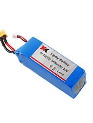 WLtoys XK X380 X380-batterie 5400mAh lipo une X380 X380-b-c 11.1v