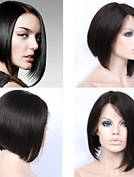 Premierwigs 8A Wholesale Bob Straight Brazilian Virgin Silk Base Full Lace Wigs For Black Women Free Maintenance