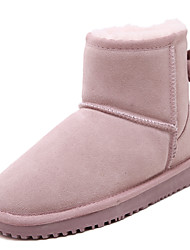 Leather butterfly knot boots Boots Outdoor / Casual Boots Shoes