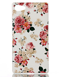 Flower Pattern TPU Phone Case for Xperia Z5 Compact/Z5mini