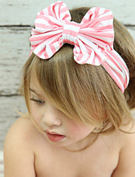 Kid's Cute Stripe Bowknot Elastic Headband