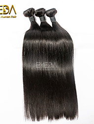 Cabelo Humano Ondulado Cabelo Brasileiro Retas 3 Peças tece cabelo