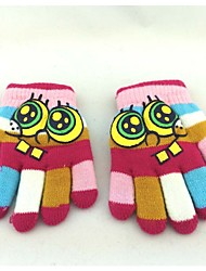 Lovely Fashion Children Winter Warm Gloves Kids Cartoon Mittens for Boys Girls Glove Five Finger