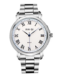 Men's Watch Quartz Dress Watch Stainless Steel Band Wrist watch Cool Watch Unique Watch
