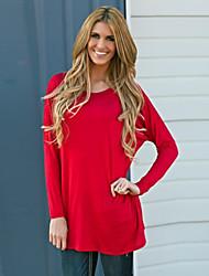 Women's Fashion Plus Size Long Sleeve T-shirt