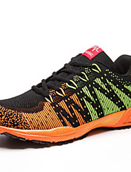Men's Running Shoes Tulle Green