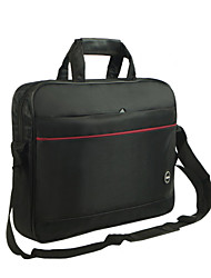 Men Nylon 15 in Laptop Laptop Bag - Black