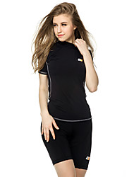 Running Tops / Clothing Sets/Suits Women's Short Sleeve Wearable / Lightweight Materials / Soft / Sweat-wicking / Compression Terylene