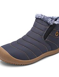 MasculinoInovador Botas de Cowboy Botas de Neve Botas Montaria Botas da Moda Tenis com Rodinhas Conforto-Rasteiro-Azul Verde Cinza-Couro-