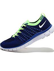 NIKE Flyknit LUNARLON / Women's / Men's Fitness & Cross Training Shoes Customized Materials Blue