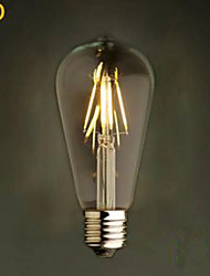 Imitation ST64LED 4 W 2300K-6500K Tungsten LED Bulbs