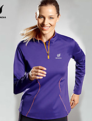 Women's Long Sleeve Running Sweatshirt Quick Dry Summer Sports Wear Exercise & Fitness Racing Running Tactel Classic