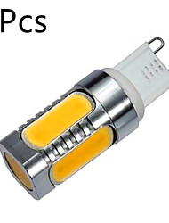 10W G9 Luci LED Bi-pin MR11 5 COB 900 lm Bianco caldo / Luce fredda Decorativo AC 100-240 V 5 pezzi