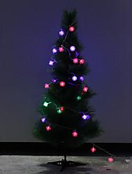 conos de pino de navidad 4.5m luz decorativa (número luces 220v: 28)